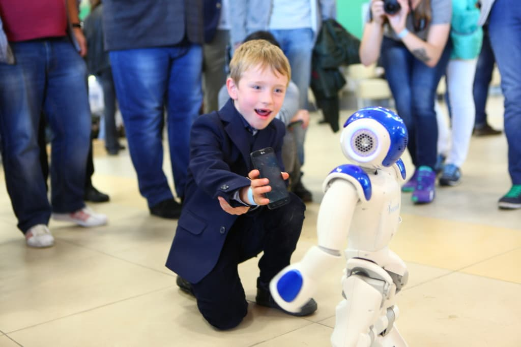 Lviv IT Arena robot