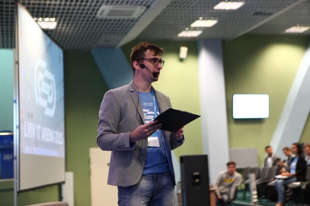 Lviv IT Arena speaker