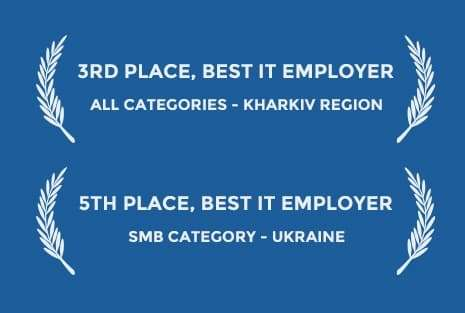 3rd place best IT employer