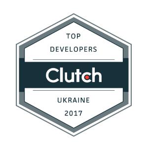 Clutch top developers Ukraine 2017