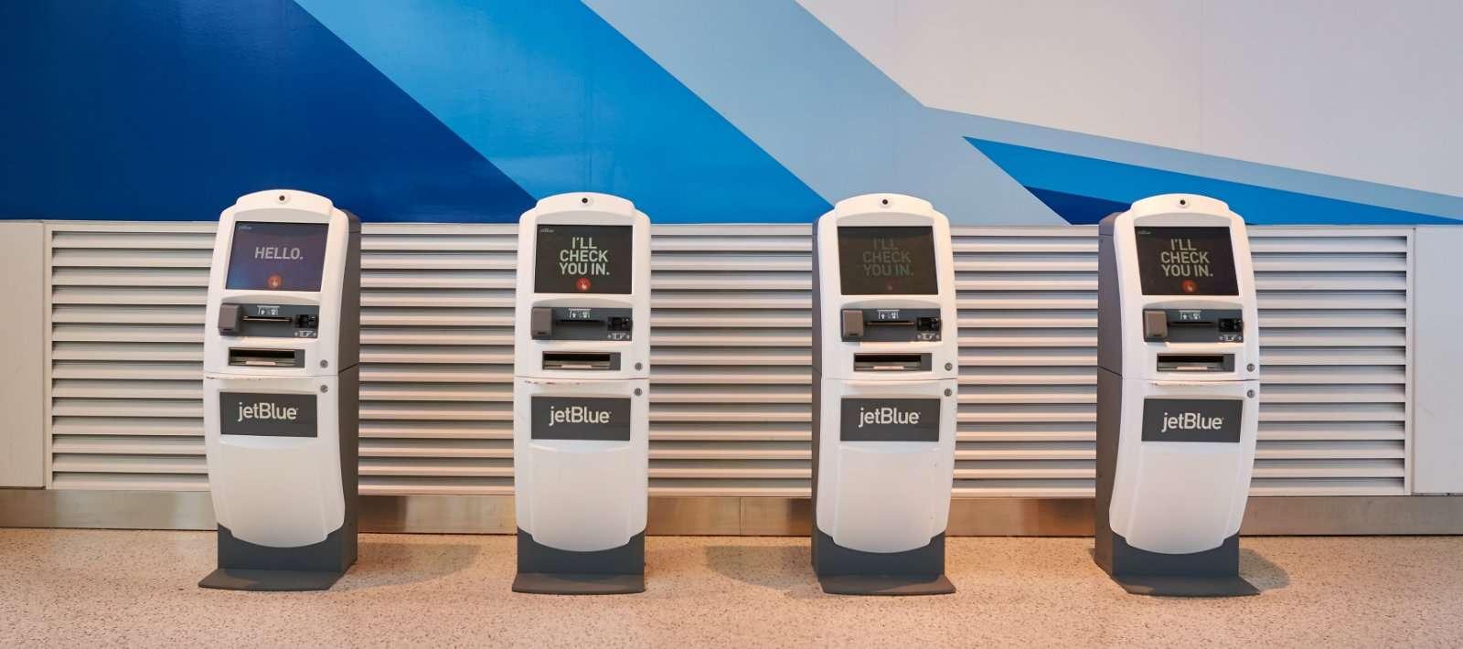 JetBlue Kiosks