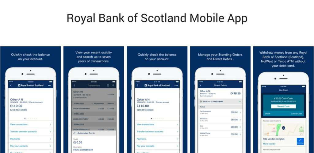 Royal Bank of Scotland Mobile App