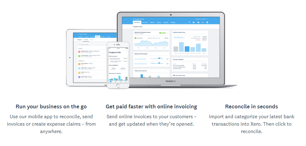 Xero's offerings and interface demo