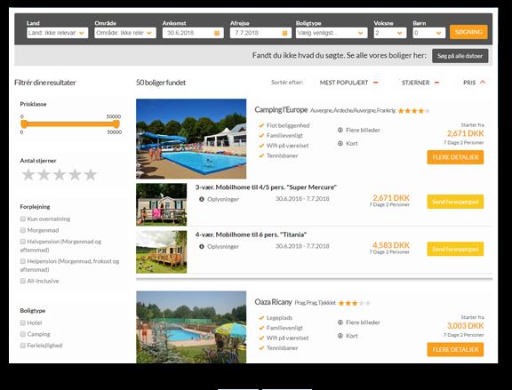 Lemax online booking platform