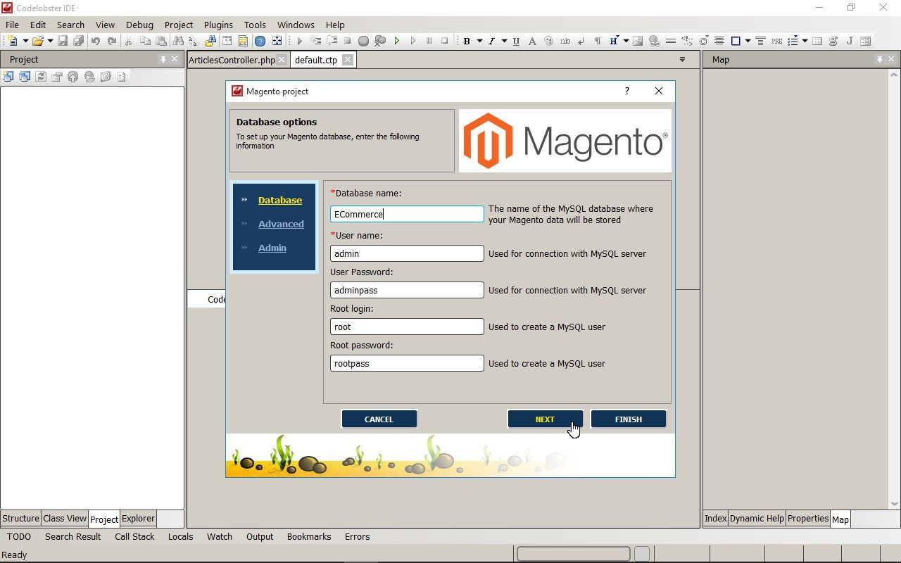 You can start creating your online store on the basis of Magento, the famous eCommerce platform