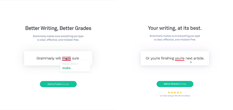 Grammarly smart content