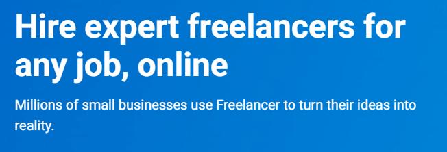 freelancer headings