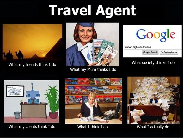 For many travel agents, their work is not synonymous with adventure and exploration