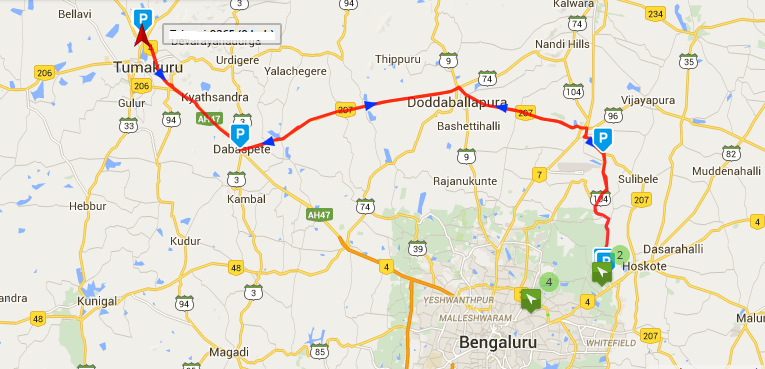 Polylines and markers in Google maps