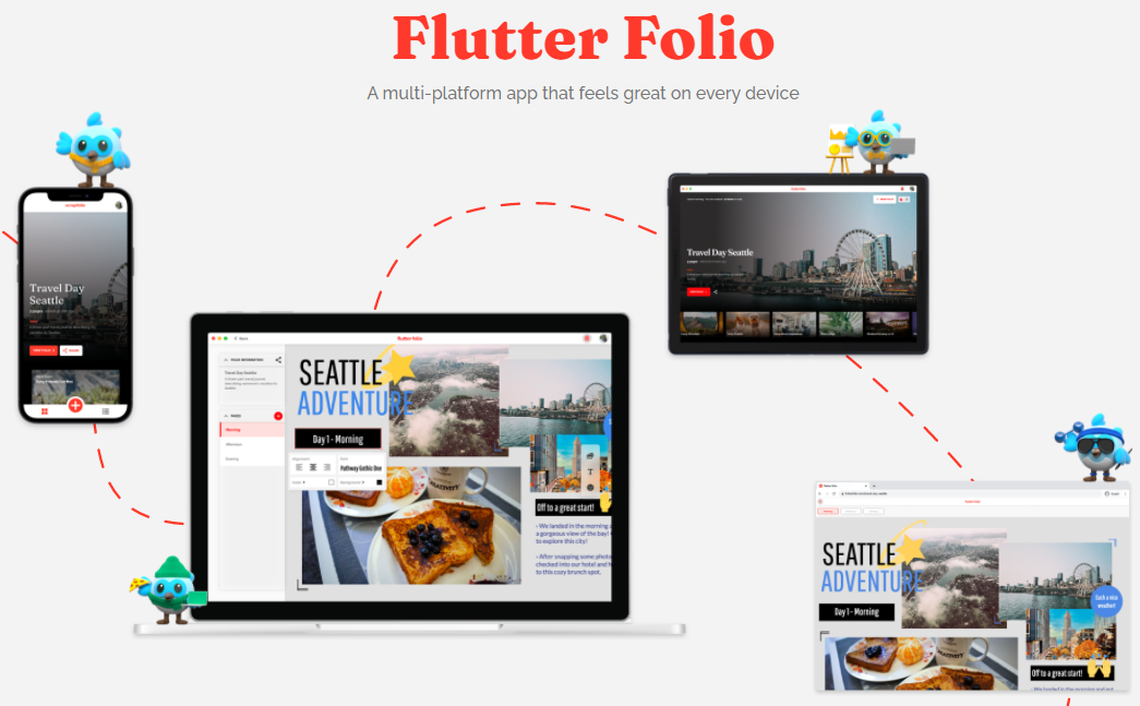 Flutter Folio