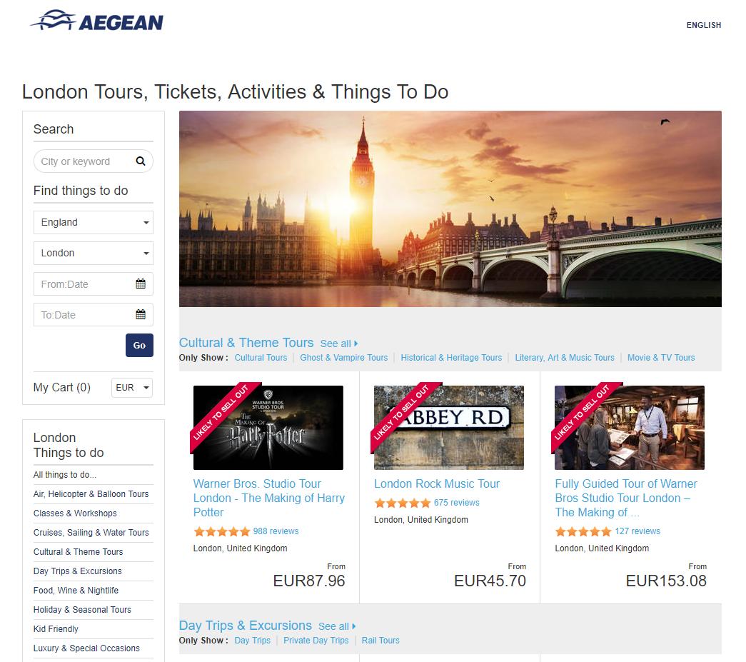 Aegean airlines white label