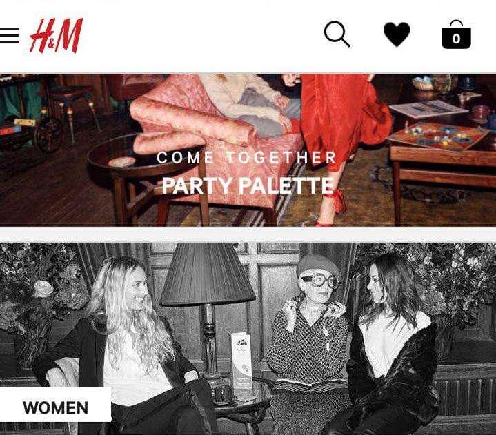 H&M mobile