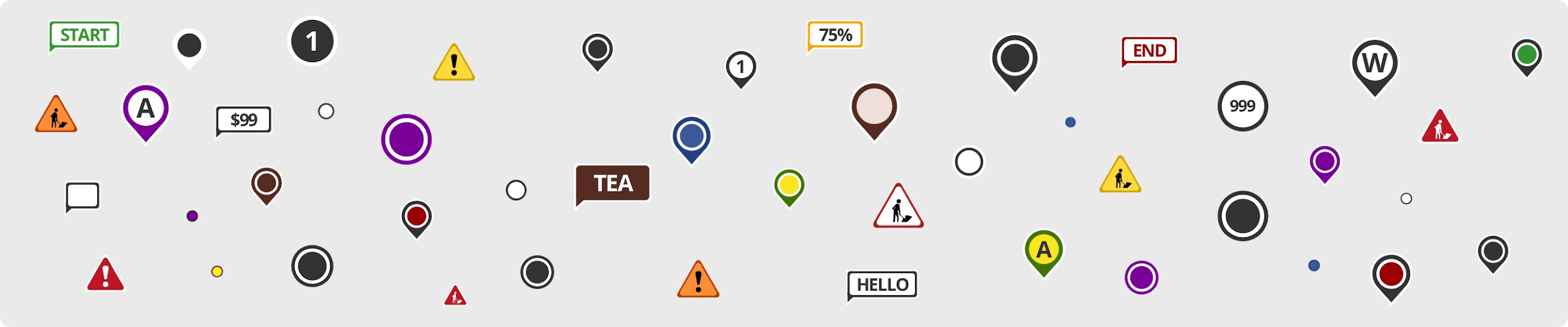 MapQuest icons