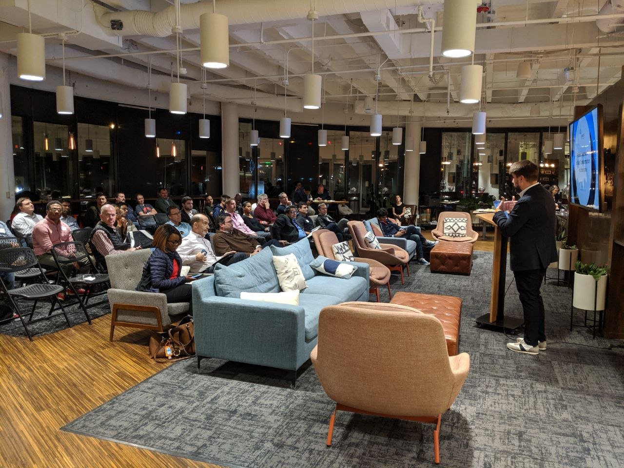 speech at a meetup