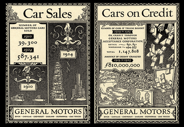 General Motors practically invented car credit by offering prestige cars for manageable prices