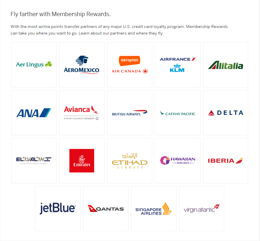 A list of airline members
