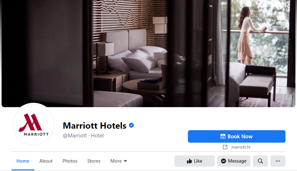 The booking engine would let you accept reservations from the Facebook page