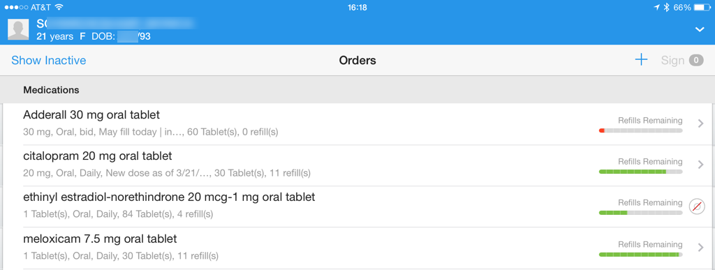 medication renewals