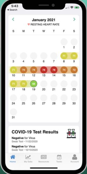 MyDataHelps App Calendar