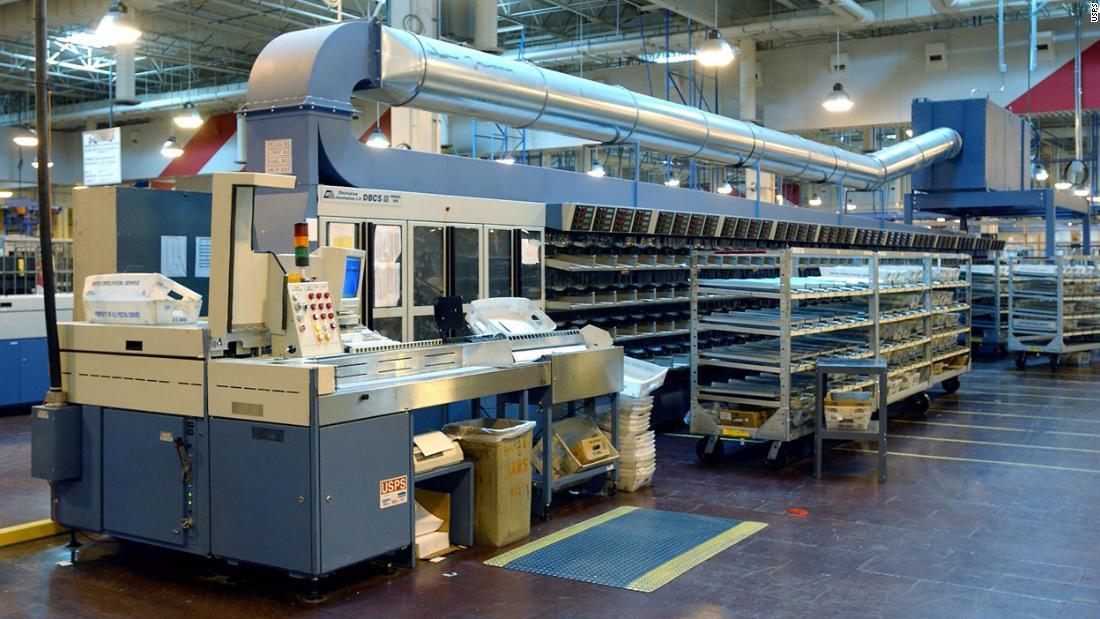 USPS sorting machines