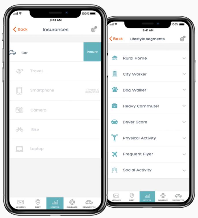 InsureApp provides customized quotes based on lifestyle.