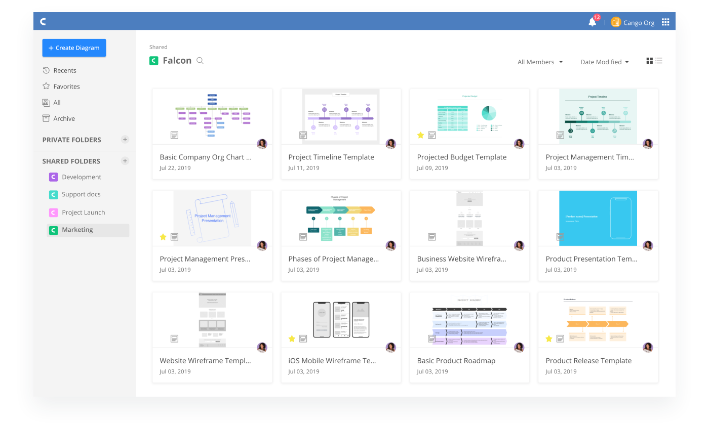 Simple and intuitive document management feature