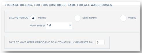 customer profile setup